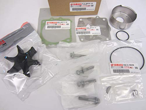 Yamaha Waverunner Impeller - Yamaha 61A-W0078-A3-00 Water Pump REPAir; Outboard Waverunner Sterndrive Mari...