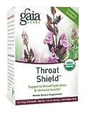 Cheap Gaia Herbs Throat Shield Herbal Tea, 1.41 Ounce ( Multi-Pack)
