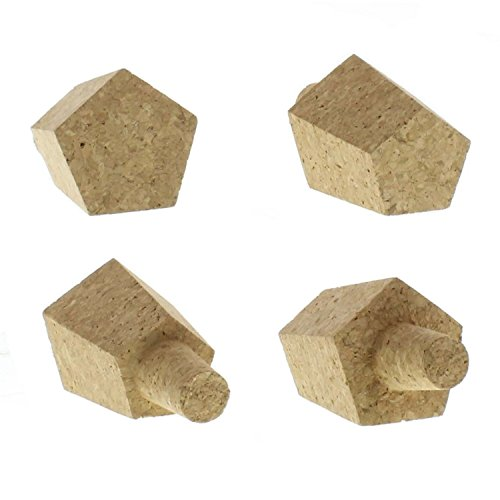 Neiman Marcus Cap - Geometric Cork Bottle Stopper Set 4 | Wine Bar Beer Cap