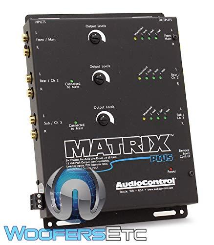AudioControl Matrix Plus Black
