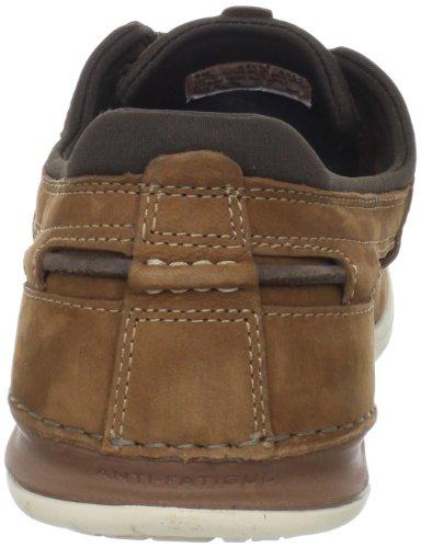 Timberland CA TRAD 2I BROWN NB 61553 - Zapatos de cuero para hombre Marrón (Brownnb)