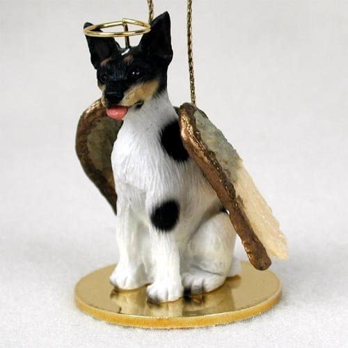 Silky Terrier Ornament Angel Figurine Hand Painted