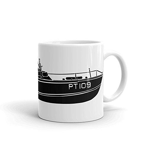 KillerBeeMoto: World War Two Motor Torpedo Boat PT-109 Coffee Mug ()