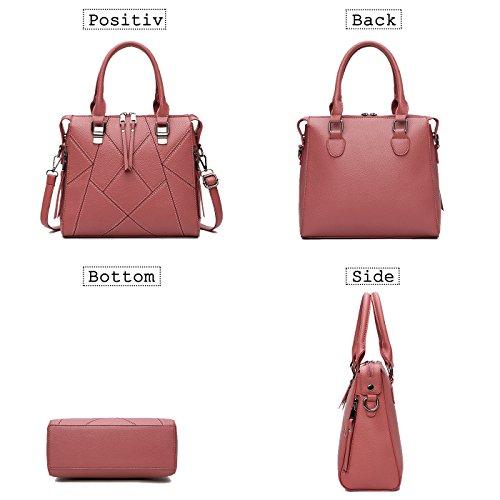 Nuova Viola Design Tracolla Donna Coolives Mano Borsa Fashion Con Grossa 6xn0qxdSw