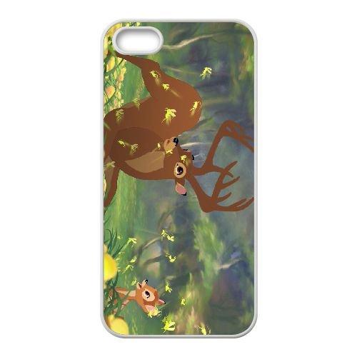 Bambi 016 coque iPhone 4 4s cellulaire cas coque de téléphone cas blanche couverture de téléphone portable EOKXLLNCD26154