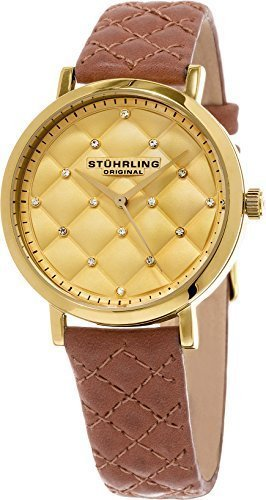 quilted dial watch - 9