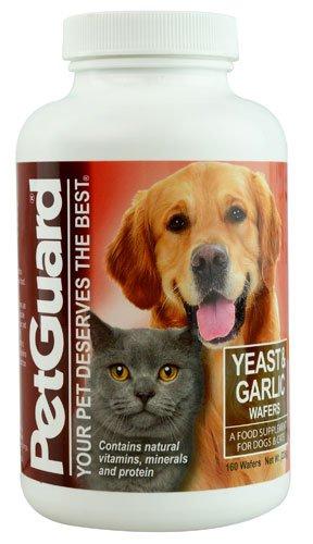 PetGuard Yeast and Garlic Wafers -- 160 Wafers - 2PC