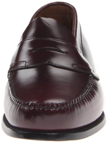 Flat Logan Men's Panel Burgundy Bass Loafer ExZ0Uwqqp