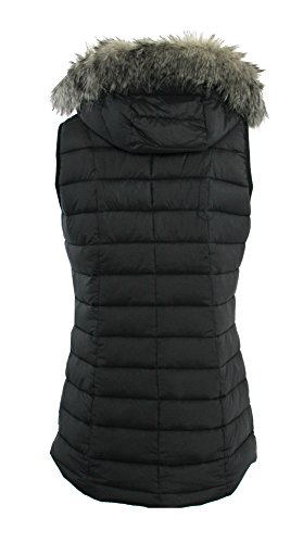Columbia Women's Backcountry Blizzard Omni Heat Hooded Puffer Vest (Black, XL) by Columbia (Image #1)