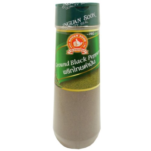 Ground Black Pepper Weight 110 G (3.88 Oz) Herbal Spice Food X 2 Bottles