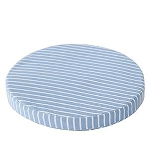 Amazon.com: qtqz rayas Circular Cojín de esponja, sala de ...