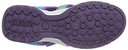 Geox J620WB015AN, Sandalias Cerradas Niñas Multicolor (Watersea)