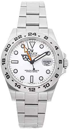 41eab0b3d Rolex Explorer II Mechanical (Automatic) White Dial Mens Watch 216570  (Certified Pre-