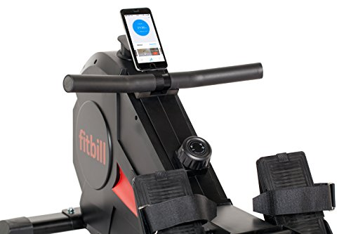 fitbill Smart Indoor Rowing Machine with Bluetooth Technology and Workout App (B607)