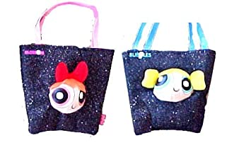 Amazon.com : 2pcs Powerpuff Girls tote Bag Handbag Purse Blossom ...