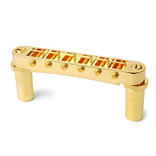 Gotoh Tune-o-matic Bridge with Studs/Bushings, Gold