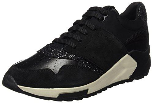 Geox Sneakers A Black Femme Phyteam Noir Basses 00C1q