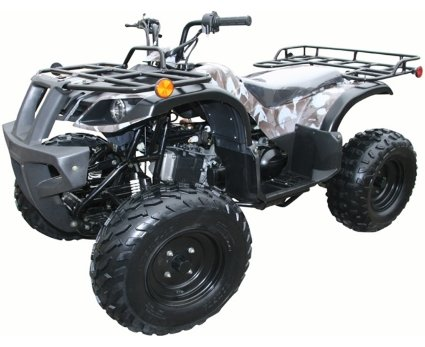 Adult 4 Wheeler (Brand New 150cc GY6 Engine with a CVT Transmission Full Size for Adults Fully Automatic ATV Four Wheeler with)