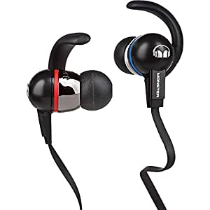 Monster iSport Immersion In-Ear Headphones with ControlTalk, Black (Discontinued by Manufacturer)