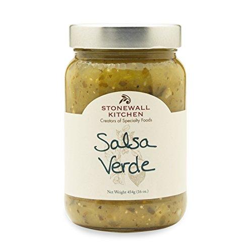 Green Salsa Verde (Stonewall Kitchen Salsa, Verde, 16 Ounce)