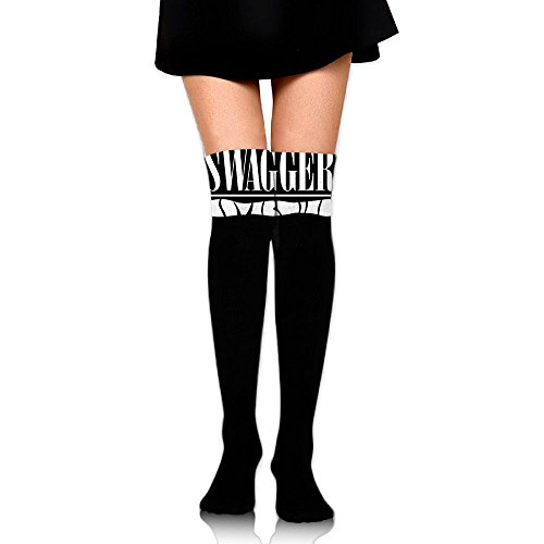Women Thigh High Socks Over Knee Swagger Hip Hop Extra Long Tube Dress Legging Slim Look