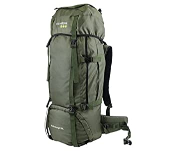 bf2a064be361 Yellowstone Waterproof Edinburgh Unisex Outdoor Rucksack available in Olive  - 65 Litres