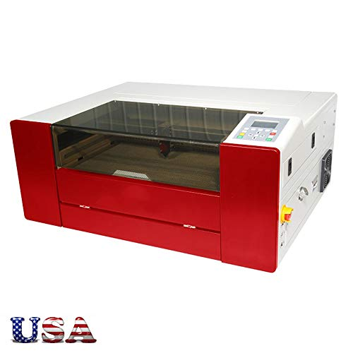 US Stock - E-5030 CO2 Laser Cutting and Engraving Machine, AC 110V 60Hz 40w