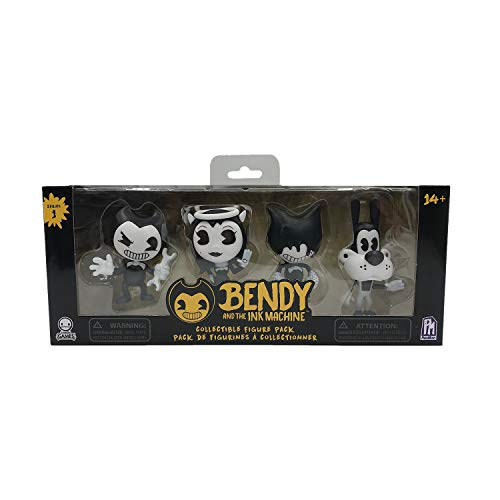 Bendy And The Ink Machine BTIM6700 - Figura Coleccionable, Color Negro