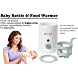 Baby Bottle & Food Warmer - Fast! Only Takes 4 Mins to Warm Breast Milk and with Upgraded Heating System, Safe - ETL Certified and only Available at Amazon!
