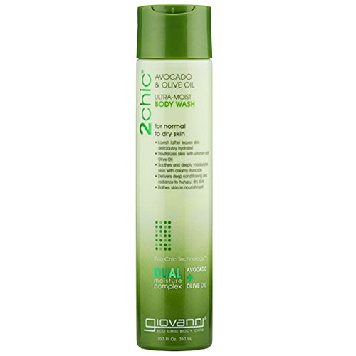 Giovanni 2chic Avocado and Olive Oil Ultra-Moist Body Wash, 24 Fluid Ounce