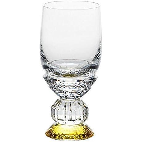 BACCARAT VARIATIONS WHITE WINE GLASS YELLOW BRAND NEW ORIGINAL BOX RARE
