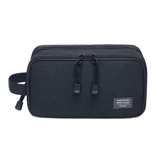 JORYEE Men's Toiletry Bag, Canvas Waterproof Travel Dopp Kit