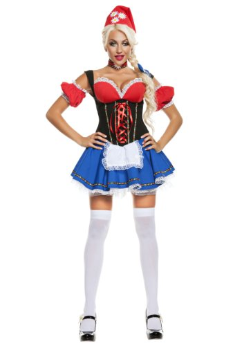 Women's Daisy Meadow Gnome Costume Womens Daisy Meadow Gnome (Lawn Gnome Costume)