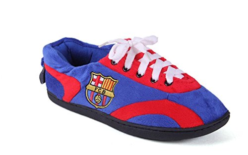 Comfy Feet BAR05-5 FC Barcelona - XX-Large - Happy Feet Mens and Womens All Around Slippers (Barcelona Indoor 5 Light)