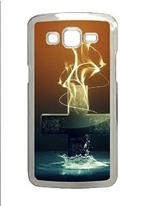 3d cross Custom Samsung Grand 7106/2 Case Cover Polycarbonate Transparent