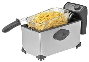 Kalorik Stainless Steel Deep Fryer, 4-Quart