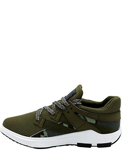 Javi Herenbodywarmer Sneaker Army / Groen