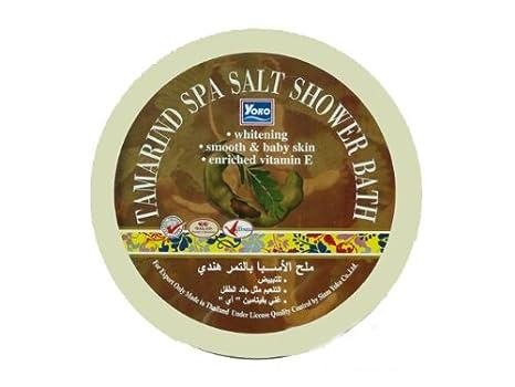 Amazon.com : Yoko Tamarind Spa Salt Shower Bath Enriched Vitamin E ...