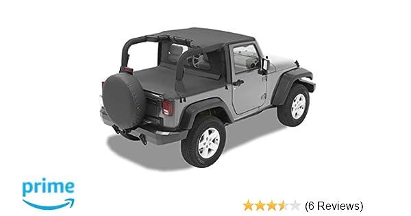 07-09 2-door Smittybilt Extended Mesh Top w// Windshield Header for Jeep JK