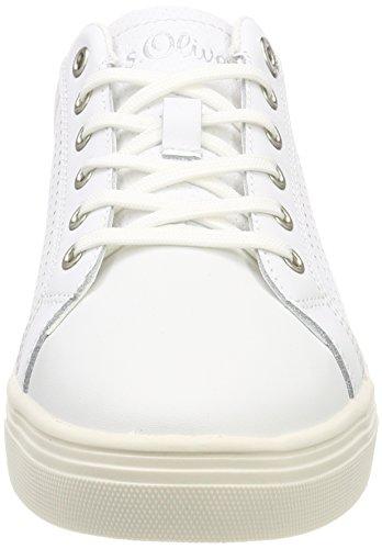 para Zapatillas Nappa Blanco s White Oliver 23620 Mujer qgBvnn1t8