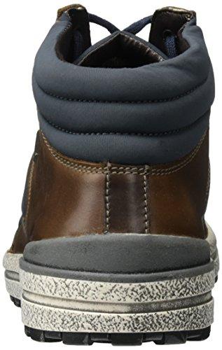 Josef Seibel Herren Emil 01 Hohe Sneaker Braun (Moro-Kombi)