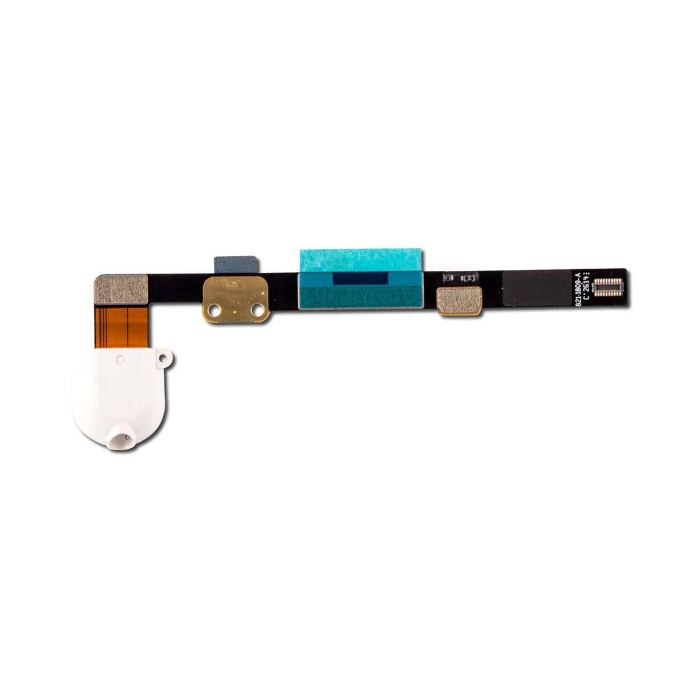 Headphone Jack Flex Cable for Apple iPad Mini - White (A1432, A1454, A1455)