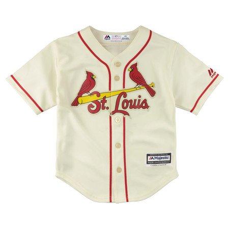 Yadier Molina St Louis Cardinals Infant Cream Alternate Cool Base Replica  Jersey 18M 8b7312f11