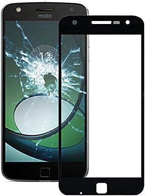 Motorola Moto Z Play/xt1635 frontal Screen Outer Glass [Negro] frontal Glass Glass pantalla de cristal screen PARA Vidrio frontal para pantalla Display Glass con marco: Amazon.es: Electrónica