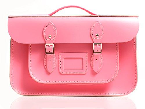 Oxbridge Satchel's - Bolso estilo cartera para mujer Rosa - Baby Pink