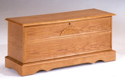 Bernards Cedar Chest, Oak (Storage Hope Chest Cedar)