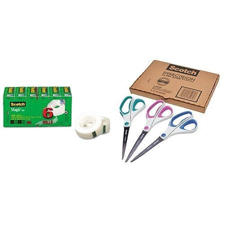 Scotch Magic Tape, Standard Width, 3/4 x 1000 Inches, Boxed, 10 Rolls (810K10) 3M Corp 810P10