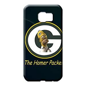 samsung galaxy s6 edge Heavy-duty Snap Back Covers Snap On Cases For phone phone carrying case cover green bay packers