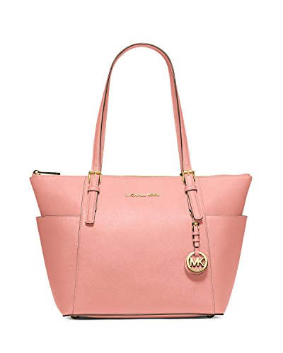 MICHAEL Michael Kors Jet Set East West Top Zip Tote in Pale Pink