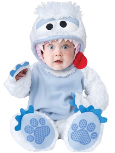 InCharacter Baby's Abominable Snowbaby Costume, Blue/White, Large